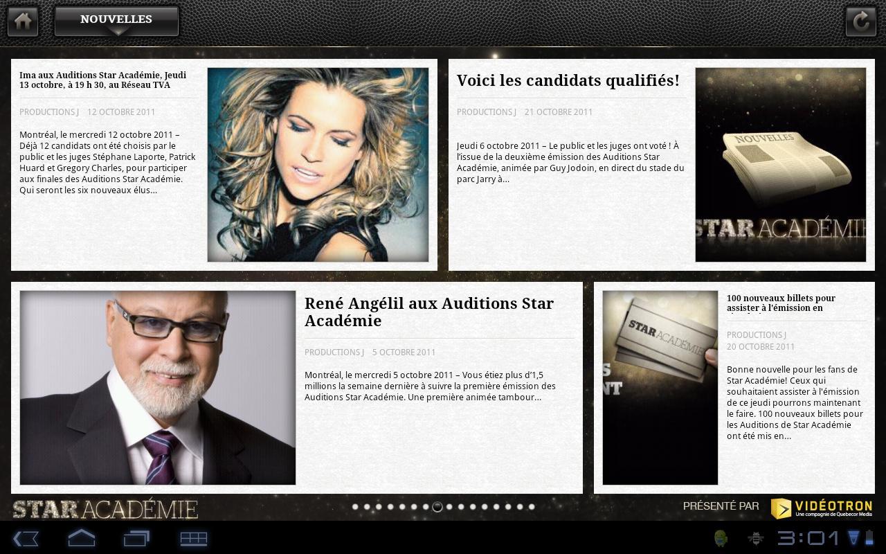 Star Académie- screenshot