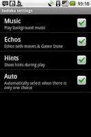 Screenshot of Sudoku