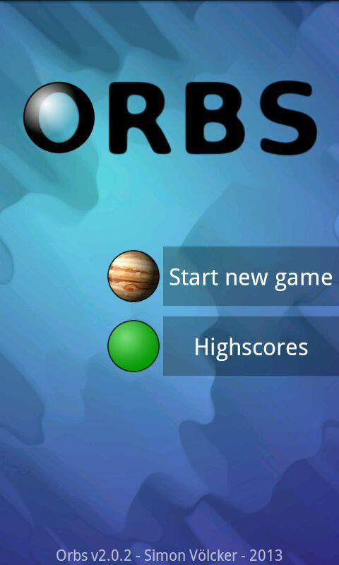 Orbs Free- screenshot