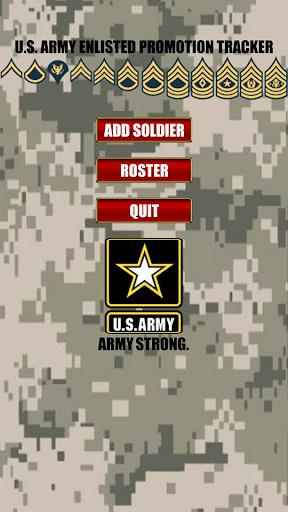 Army Promotion Tracker FREE