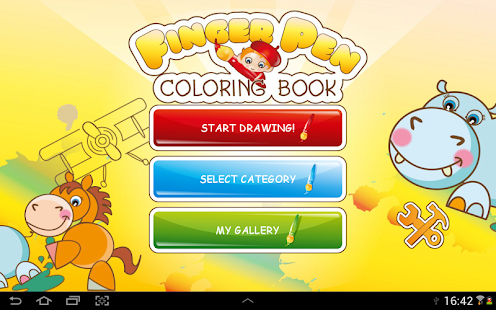 FingerPen 300+ coloring books - screenshot thumbnail