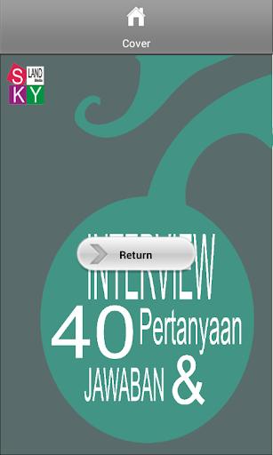 Interview 40 Pertanyaan Jwbn