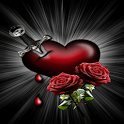 Heart Roses Live Wallpaper icon
