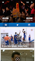 Screenshot of Official New York Knicks App