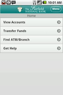 Fairfield National Bank Mobile - screenshot thumbnail