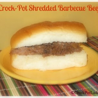 Crock-Pot Shredded Barbecue Beef