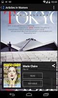 Screenshot of Zinio: 5000+ Digital Magazines