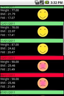 My BMI- screenshot thumbnail