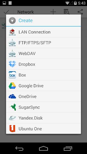 CM FILE MANAGER HD 3.5.0 screenshots 5