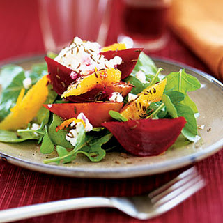 Beet-Orange Salad with Ricotta