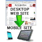 Mobile site generator