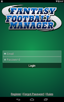 Screenshot of Fantasy Football Manager Pro