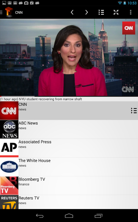 Telecast+ (Chromecast TV) - screenshot