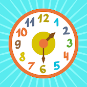 Clock time game hours, minutes