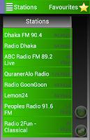 Screenshot of A2Z Bangladesh FM Radio