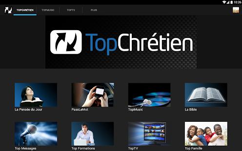 TopChrétien - screenshot thumbnail