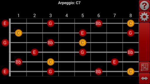 smart Chords Arpeggio Guitar.