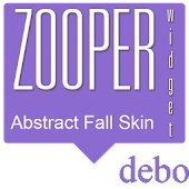 Abstract Fall Zooper Skin