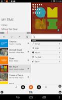 Screenshot of JBL Music