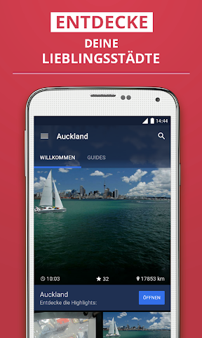 Screenshot 1 Auckland Reiseführer
