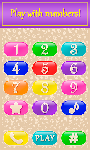 Baby Phone with Music, Animals for Toddlers, Kids  screenshots 1