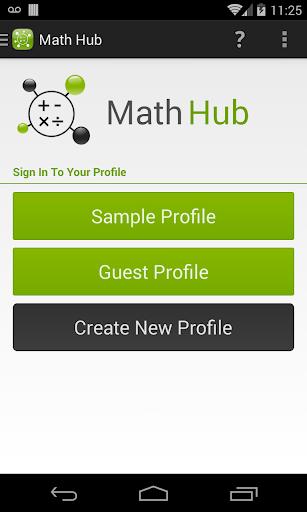 Math Quiz Hub