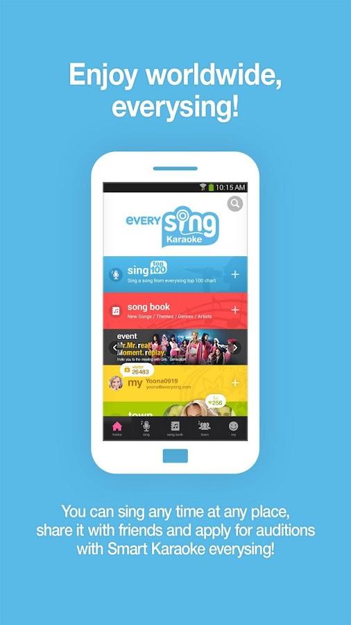Smart Karaoke: everysing Sing! - screenshot