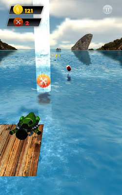 Jet Boat Rush - screenshot