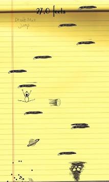 Doodle Man Jump apk screenshot