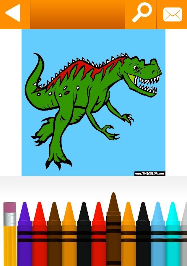 Animals Coloring Pages Free by TheColor.com- screenshot