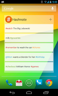 Hashnote - screenshot thumbnail