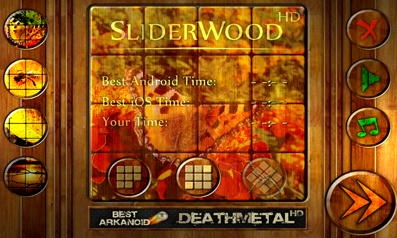 SliderWood FREE- screenshot