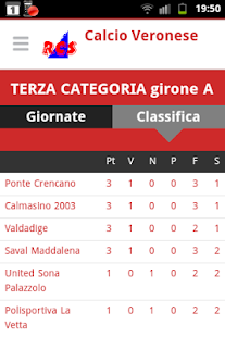 Calcio Veronese- screenshot thumbnail