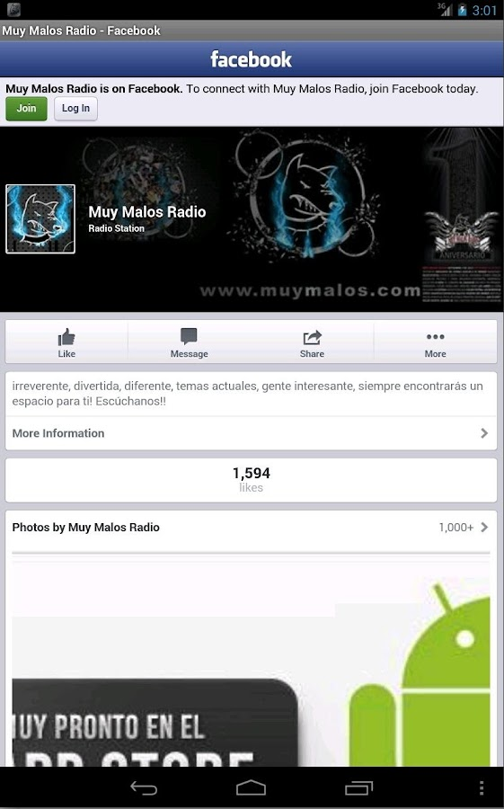 Muy Malos Radio- screenshot