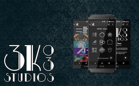 3K MNML Glass - Icon Pack v3.4.1