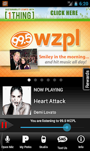 99.5 WZPL - screenshot thumbnail