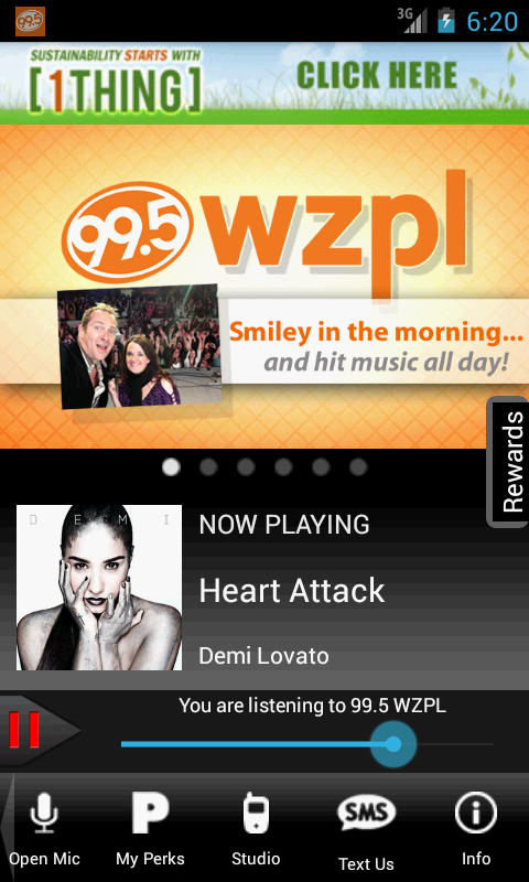 99.5 WZPL - screenshot