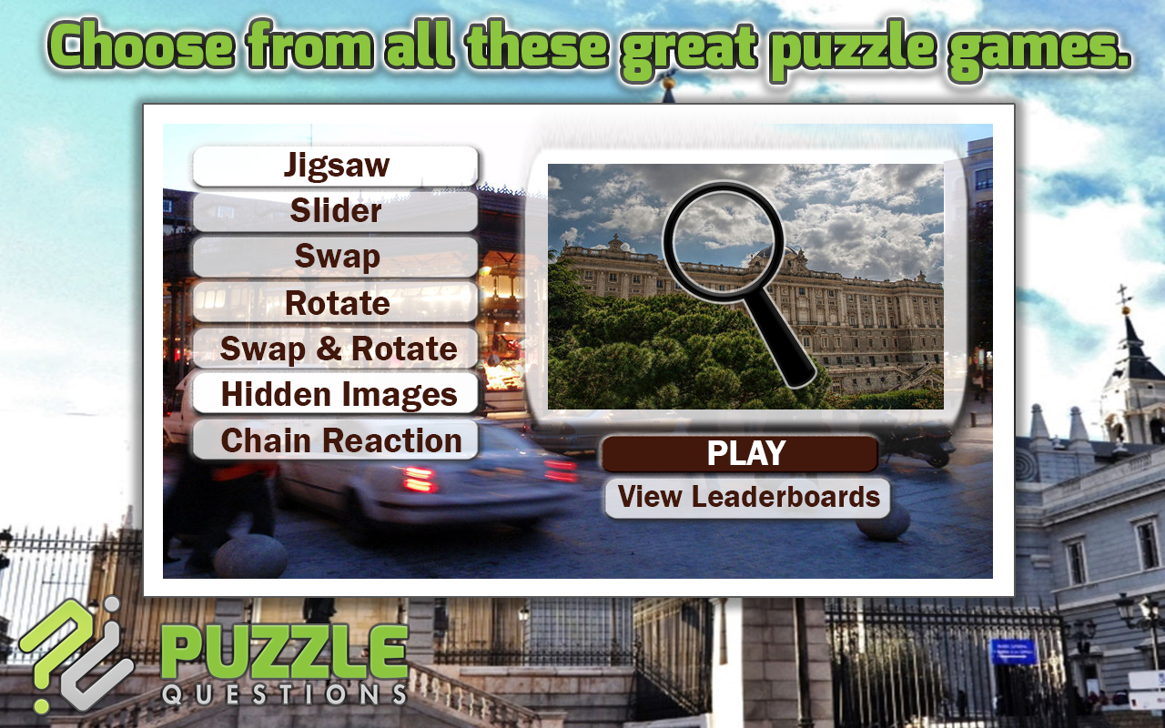 Madrid Puzzle Games- screenshot