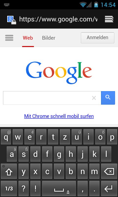 Deutsche Tastatur - screenshot