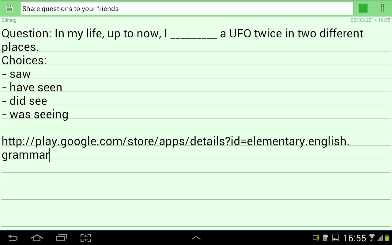 Worksheet Elementary English Grammar elementary english grammar android apps on google play screenshot