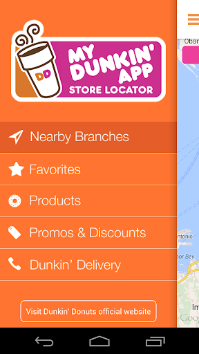My Dunkin' App screenshot