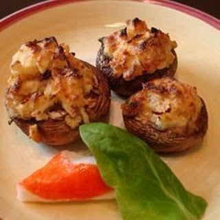 Cajun Crab Stuffed Mushrooms