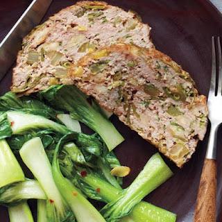 Snow Pea-Sesame Meatloaf