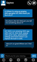 Screenshot of GO SMS Pro WP7 ThemeEX