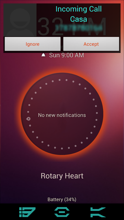 Ubuntu Lockscreen - screenshot