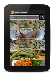 Cookbook free : Spanish Recipe - screenshot thumbnail