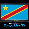 Congo live TV. logo