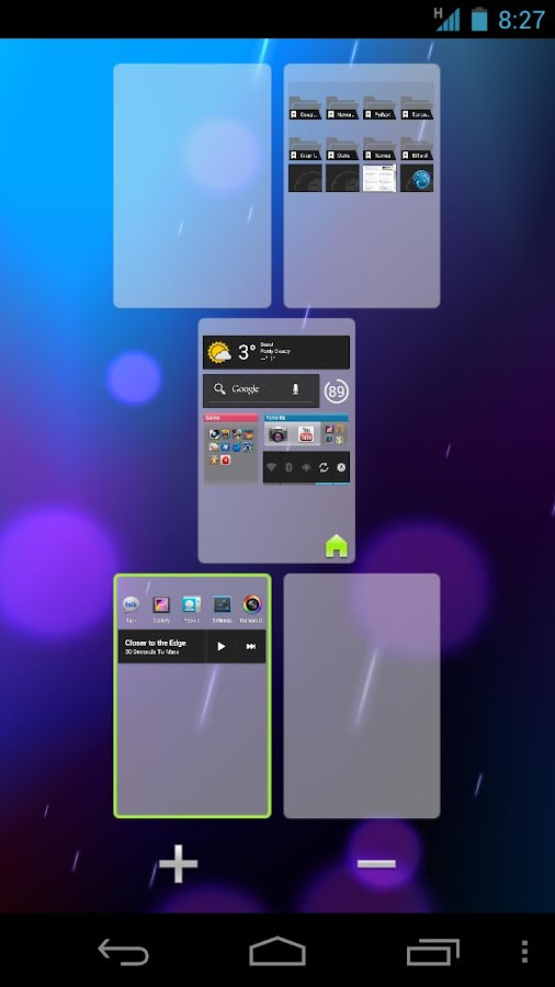Nemus Launcher - screenshot