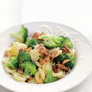 Pasta Broccoli E Salsiccia.