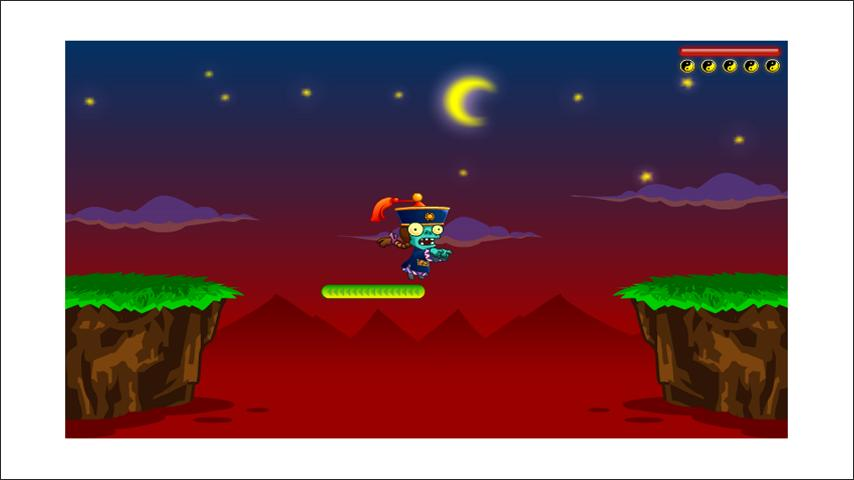 Crazy Zombie Jump - screenshot